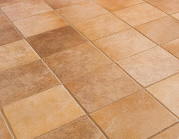 Ceramic tile and grout cleaned by AZ Tile and Grout Care