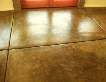 Concrete floor polished by AZ Tile and Grout Care - Teaser