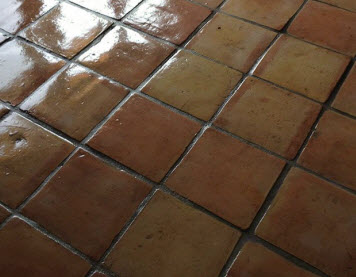 Saltillo tile refinishing by Arizona Tile and Grout Care