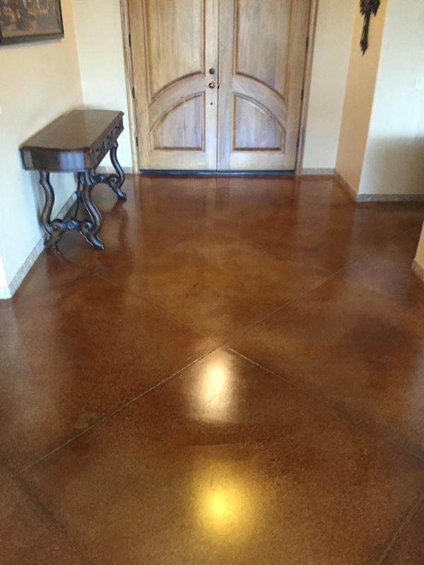 Polished concrete floors tucson az thefloors co for Caring for polished concrete floors