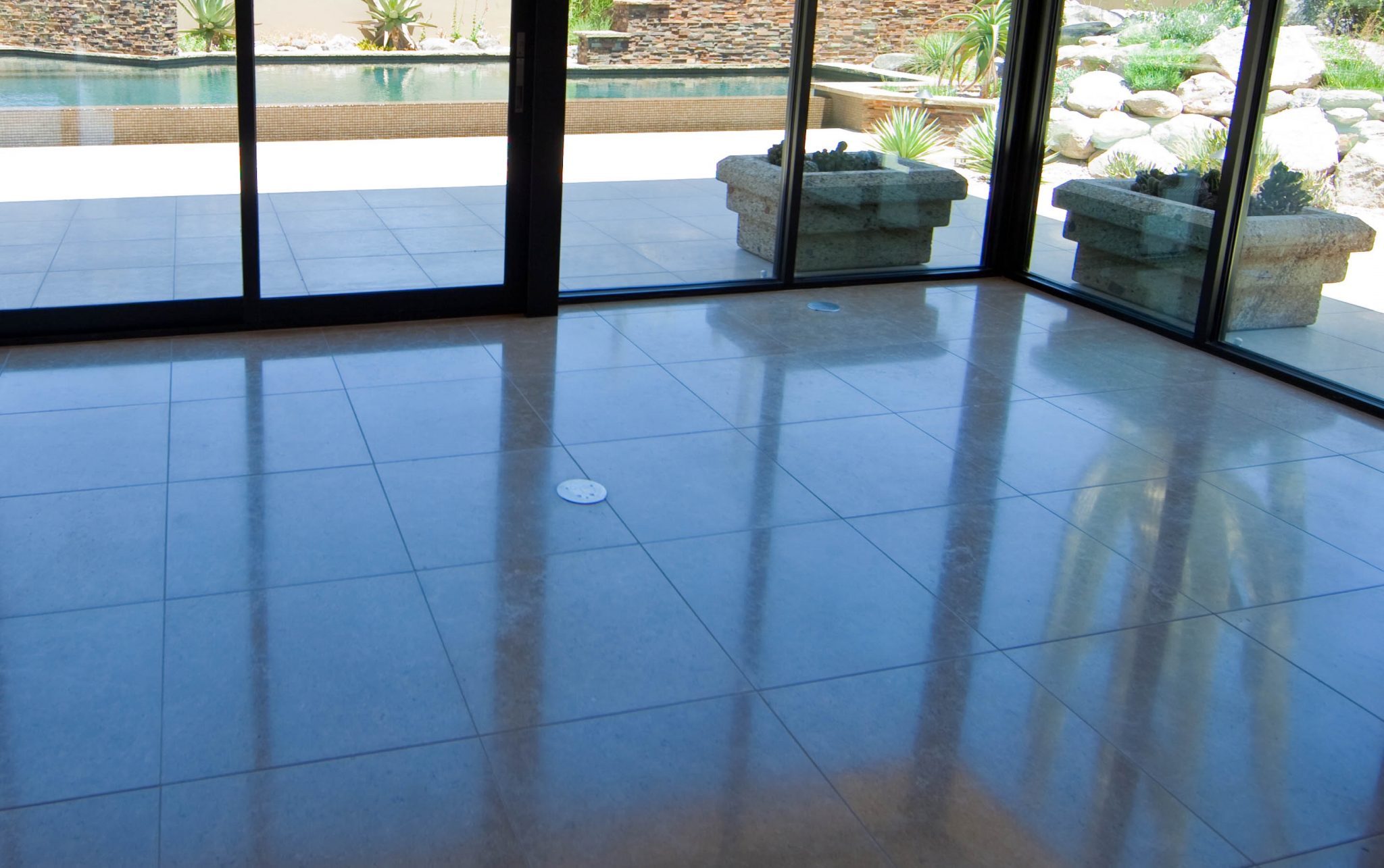 How to maintain your tile floors az tile grout care inc travertine after stone diamond polishing az tile and grout tucson dailygadgetfo Images