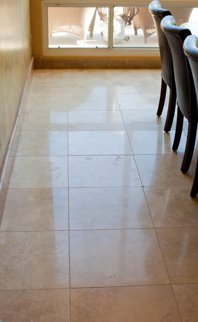 Travertine After Stone Diamond Polishing Az Tile And