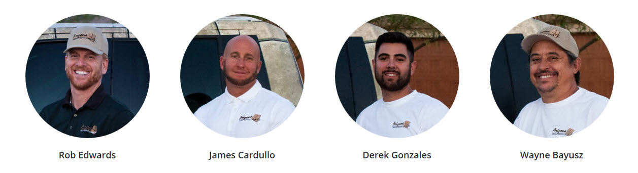 The Team of Tile Cleaning Specialists of Arizona Tile & Grout Care